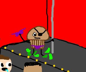 Trouble Muffin secretly female stripper