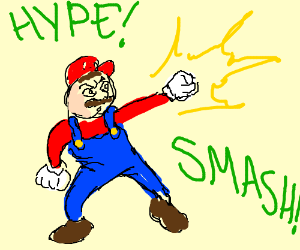 Super Smash Brothers 4 Hype!