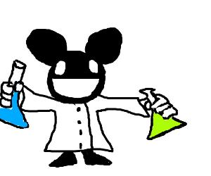 Dead-mouse scientist