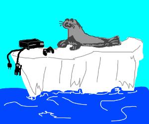 Alternate dimension where Seal has an Xbox