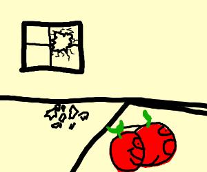 windows broke, apple love
