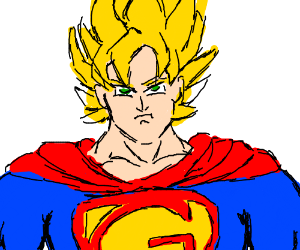 Goku And Superman Fusion