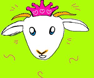 Goat princess