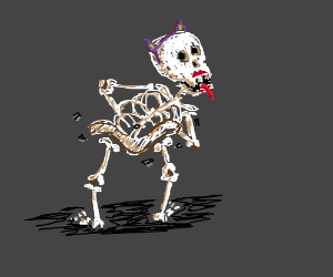 Twerking skeleton?