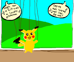 Pokemon puppet show