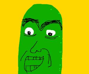 OMG, disgusting Nicholas Cage pickle!