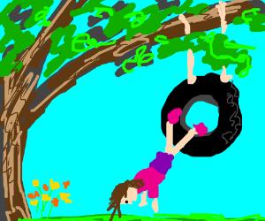 Tree-swing accident