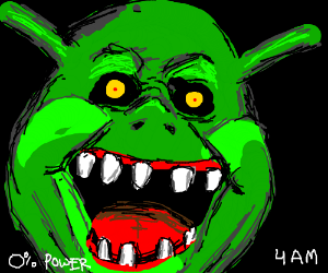 Five Nights at Freddy's: Crap Shrek Edition