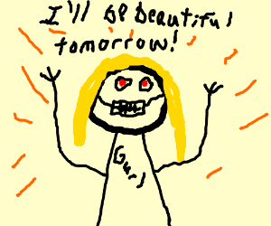 Woman finally gets her braces off tomorrow!