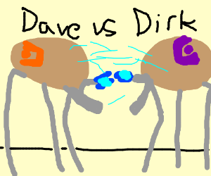 Dave strider VS Dirk Strider