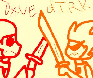 Dave vs dirk