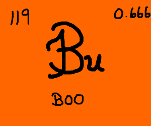 New element on the Periodic Table: Boo.