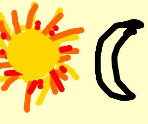 Sun vs Moon.