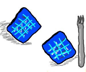 Blue waffles O,o