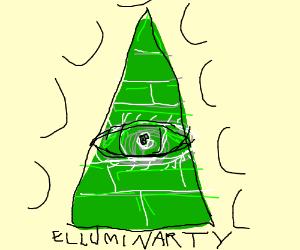 Green Illuminati Symbol