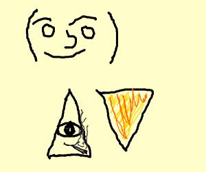 MLG Lenny face/degdeg weed dorito illuminati