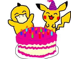 Pikachu's Birthday Party
