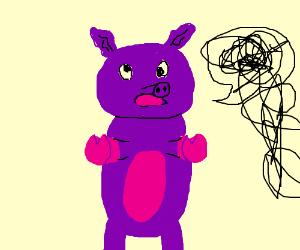 Purple Pig is 100% Unintelligible