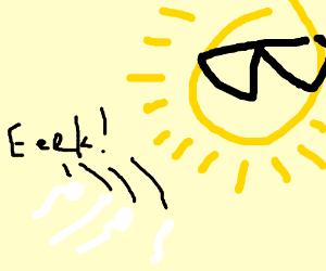 sperm cells are afraid of the sun