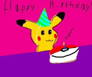 Happy birthday, Pokemon!