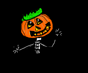they call him jack, king of the pumpkin patch