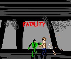 Bloodless fatality