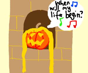 Just another Halloween for Mr. Jackolantern