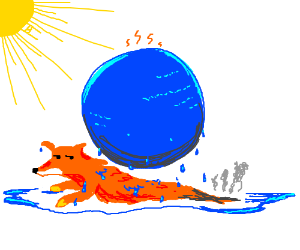 Firefox after global warming