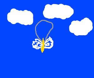 Winged banana pendant(?)