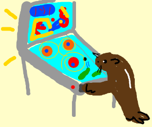 Seal finds pinball intuitive enough