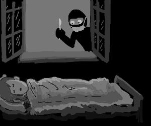 Ninja surgeon stalks the night for your organs