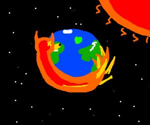 Global warming is killing Firefox