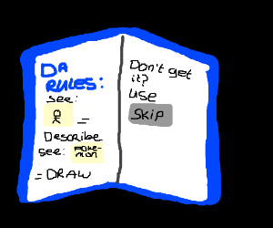 Drawception for Dummies the book