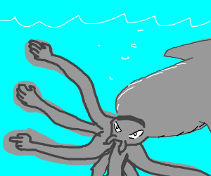 The kraken now has hands