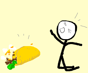 Taco fall