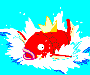 Magikarp use Splash attack!