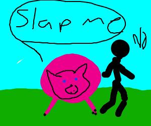 No one wants to slap Pinkie Pie