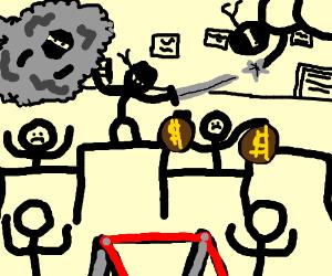 ninja bank robbery