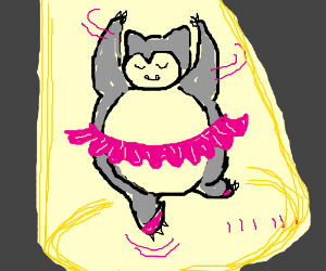 Snorlax does ballet