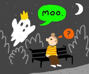 The King ghost fails at being scary