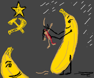 What do bananas do to people in Soviet Russia?
