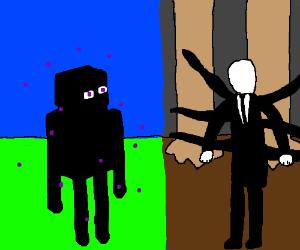 Enderman vs. Slenderman