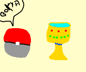 Pokeball discovers the Holy Grail