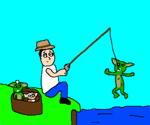 Fishing for gremlins