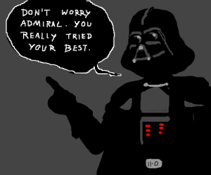 Darth Vader tries being an empathetic boss.