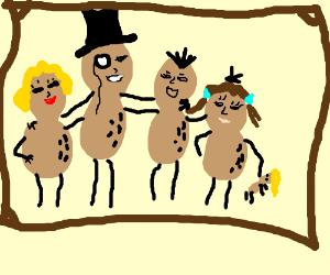 A very nutty family