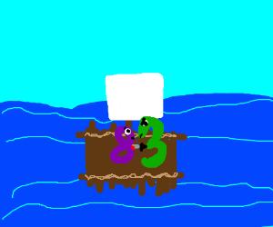 "Murderous ""3"" kills on raft"