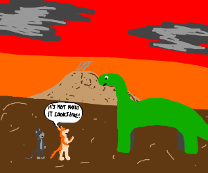 Furries worry they'll give dino the wrong idea