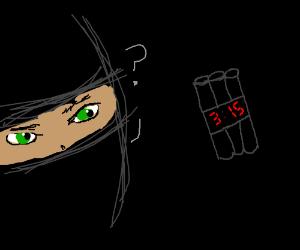 Amer. ninja confused by ninja dynamite.
