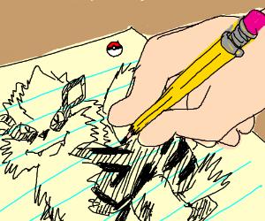 Draw a Pokemon: Arcanine